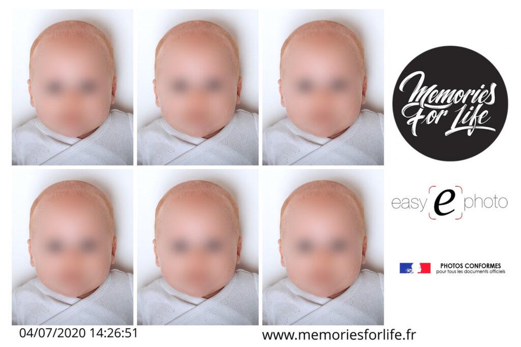 photo d'identité bébé à pau