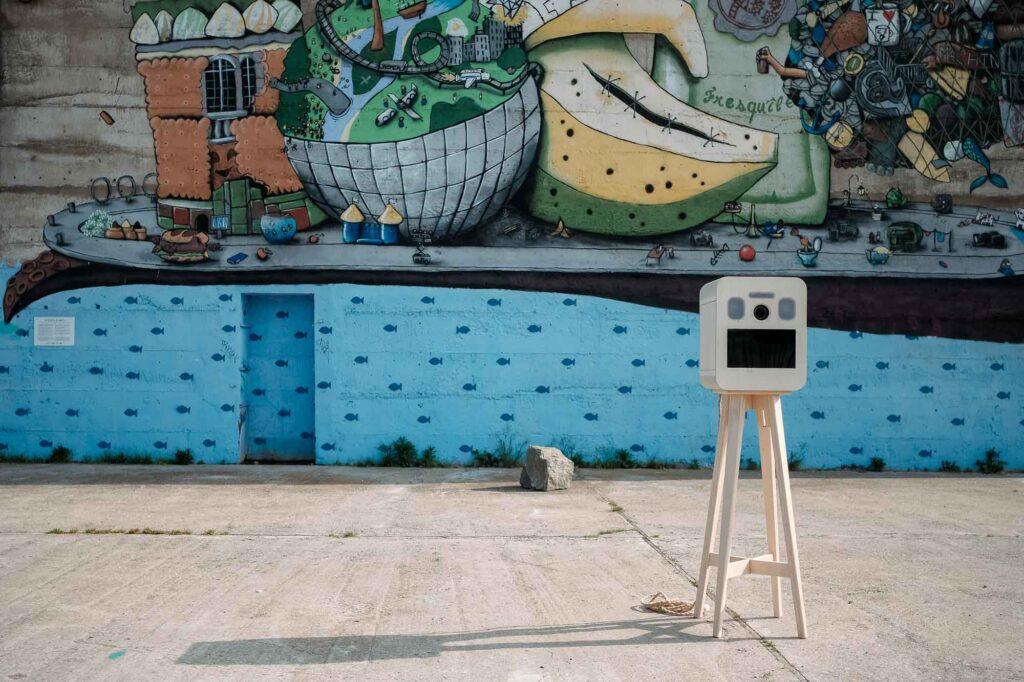 location photobooth borne à selfie Pau